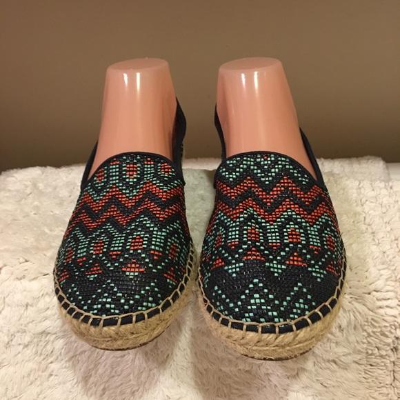26bd04863 DV by Dolce Vita Shoes | Dolce Vita Colorful Espadrille Flats Size 8 ...